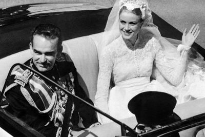 <b>Became royalty in:</b> Monaco <p>The Oscar-wining actress became a fairytale Princess upon her marriage to Prince Rainier of Monaco in 1956.
