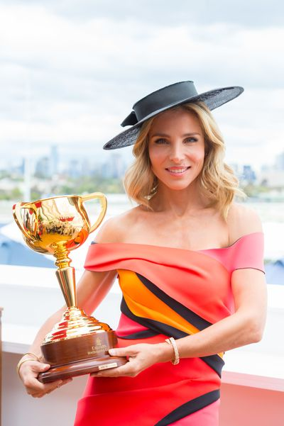"""<p>So far the Melbourne Cup Carnival has seen a mixed field of trends. Here's our pick of the top 10 to see you cross the line with a photo finish worthy of Annie Liebowitz.</p> <p>1) Wear colour</p> <p>Elsa Pataky, wife of Thor actor Chris Hemsworth in the Emirates marquee wearing Cappellazzo Couture.<br style=""""box-sizing: border-box;""""> </p>"""