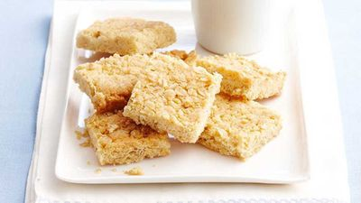 "Recipe: <a href=""http://kitchen.nine.com.au/2016/05/16/13/25/easy-coconut-squares"" target=""_top"">Easy coconut squares</a>"