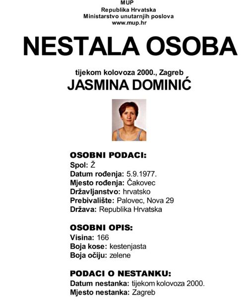 The missing poster.