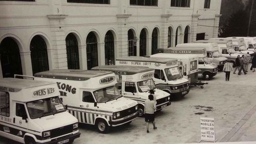 Ice-cream vans were a booming business in Glasgow in the late 1970s and early 1980s.