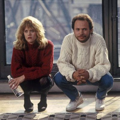 Meg Ryan and Billy Crystal: Then...