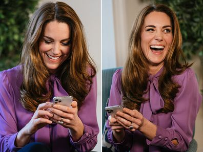 Kate Middleton answers 'Early Years' survey questions.