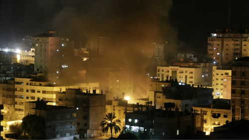 Four children among eight killed in Gaza