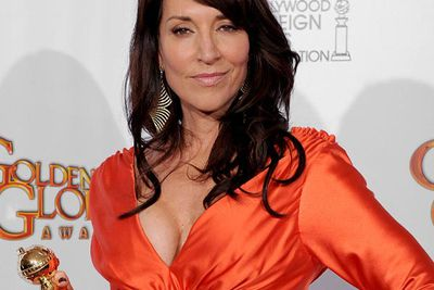 YES! We were so excited to see Katey Sagal up for it, but we're realists, we figured she didn't have a shot in hell. Elisabeth Moss (<i>Mad Men</i>), your day will come... Katey's win makes us very, very happy.