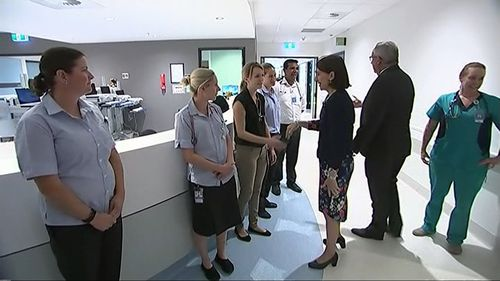 The Northern Beaches Hospital was officially opened by NSW Premier Gladys Berekilian two days ago.