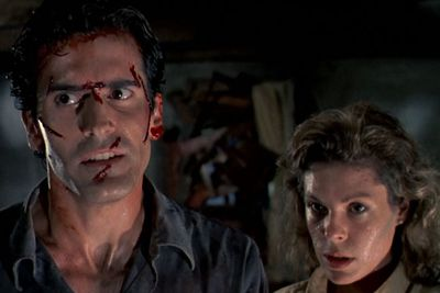 Five friends travel to a cabin in the woods in <i>The Evil Dead</i>, where they unknowingly release flesh-possessing demons. Yikes! That is literally the WORST thing that could happen on a holiday.<br/><br/>(Image: New Line Cinema)