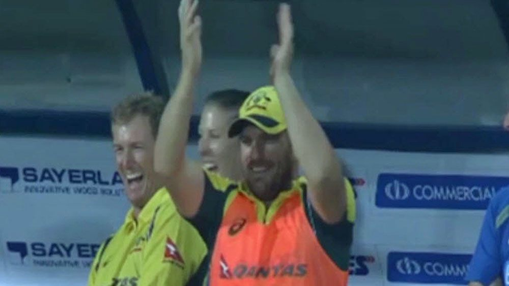 Cricket: Finch laughs off Maxwell's record bid