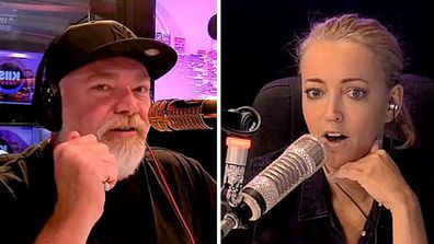 Kyle Sandilands and Jackie O Henderson