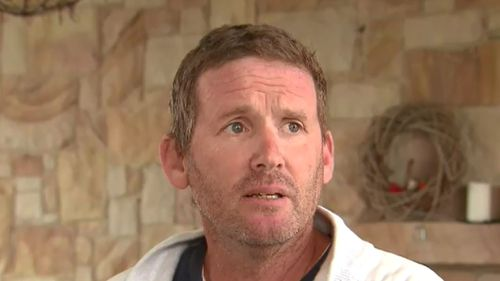 Mr Brooks spoke to 9NEWS about the ordeal today. (9NEWS)