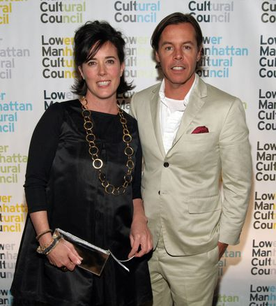 Kate Spade and Andy Spade attend event