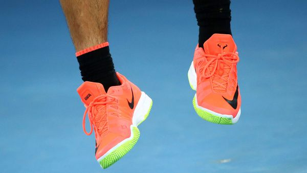 bf8431482 The real highlight of the Federer Nadal final  Their shoes - 9Coach
