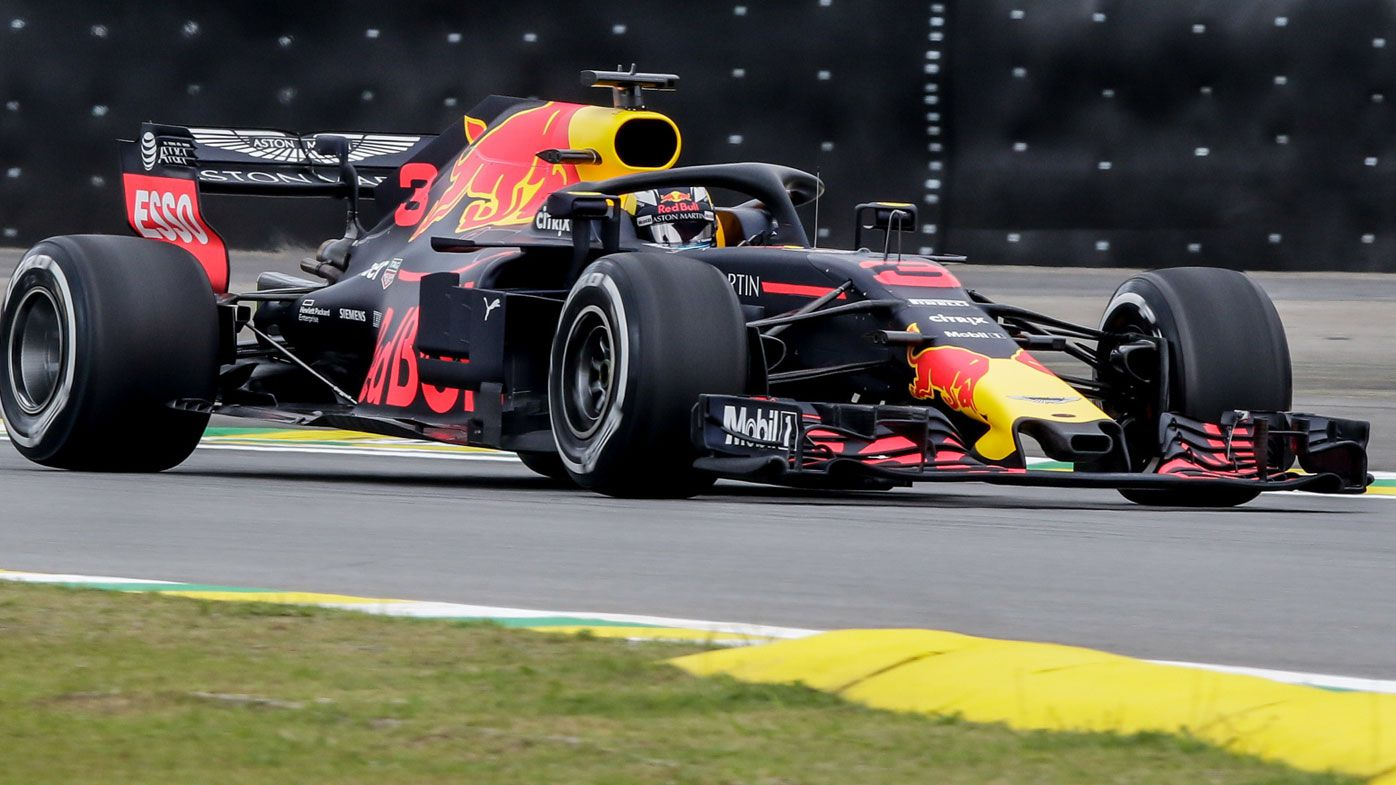 Red Bull's Daniel Ricciardo handed penalty for Brazilian GP