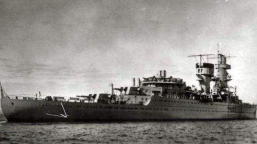The HNLS De Ruyter was sunk by Japanese forces in 1942