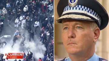 Violent protests condemned amid warning for future rallies