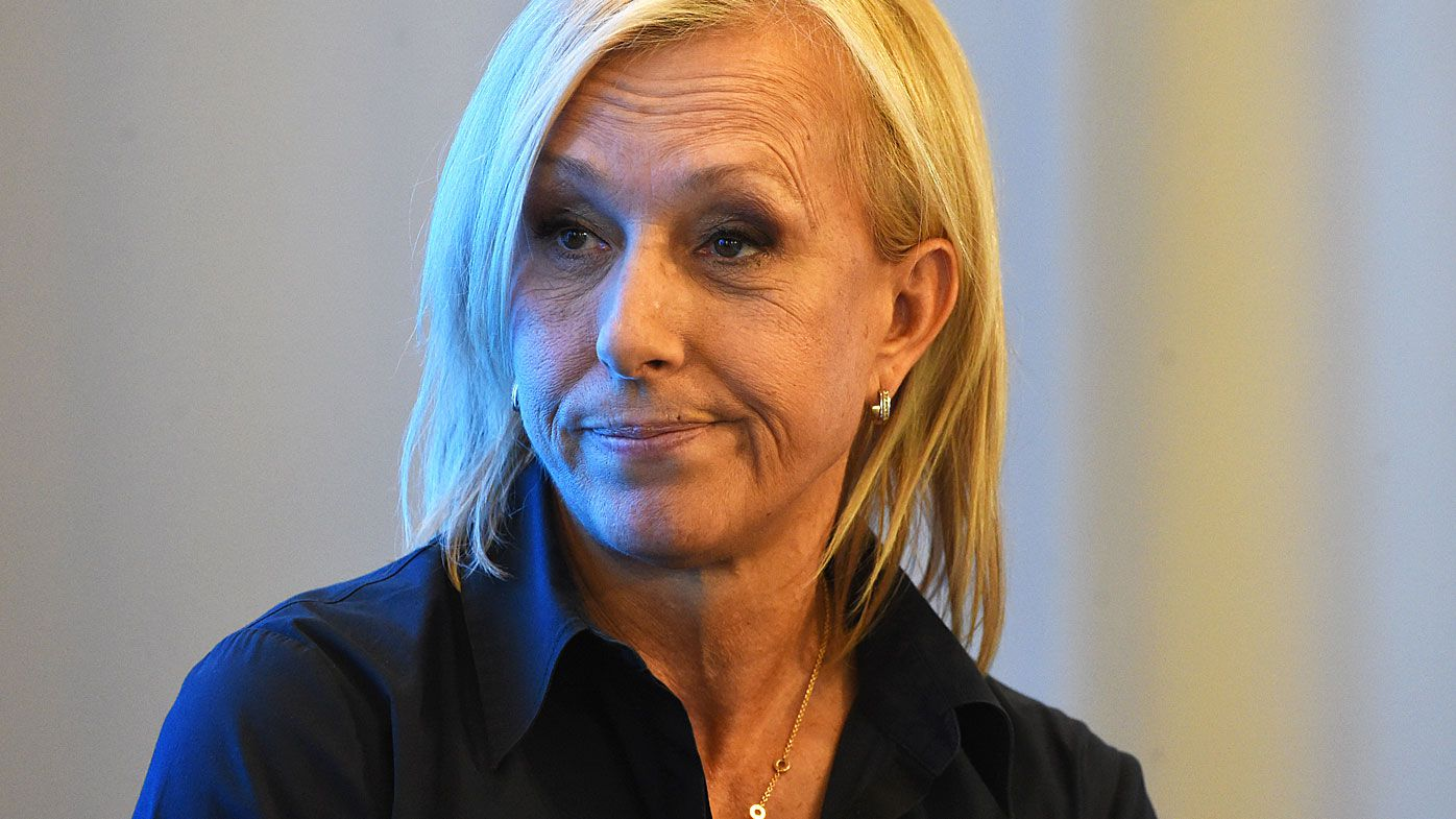 Martina Navratilova cops further backlash for 'transphobic' comments