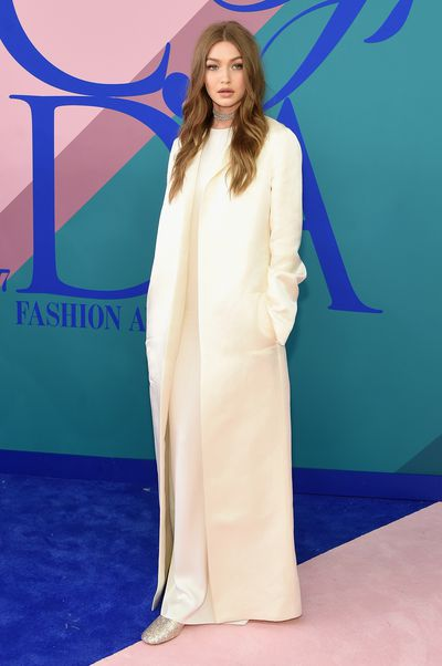 <p><strong>Loser: Gigi Hadid in The Row</strong></p> <p>Gigi looks about as excited by this ensemble as we are. It would be chic in surgery.</p>