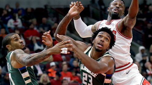 The Milwaukee Bucks signed the 6-foot-6 guard from Southern Methodist University in Texas last summer in a deal with the Philadelphia 76ers.