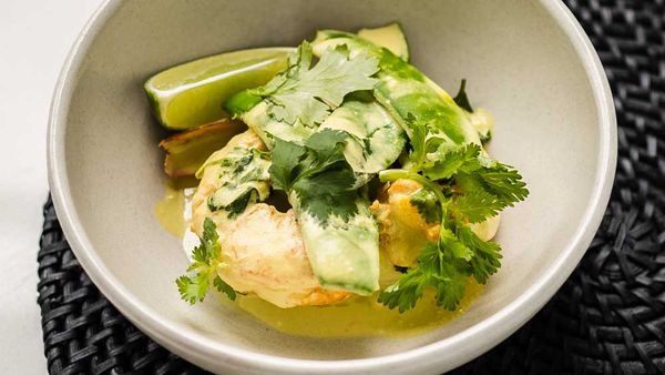 Gary Mehigan's fish and prawn curry