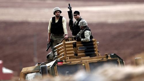 US airdrops arms to Kurds in Kobane