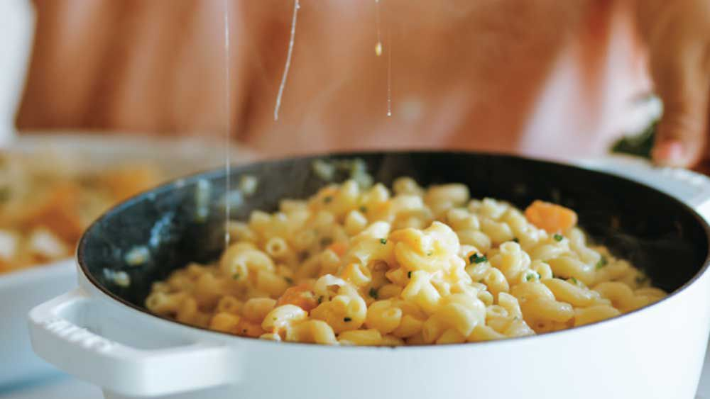 Hetty McKinnon's mac n cheese recipe