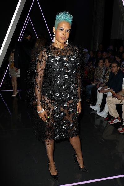 Singer Kelis at Ralph & Russo Haute Couture A/W 18/19 show in Paris,  July 2018