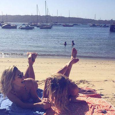 Ashley Hart at Watsons Bay