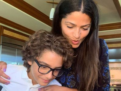 Matthew McConaughey, son Levi, photo, Instagram, mum, Camila Alves