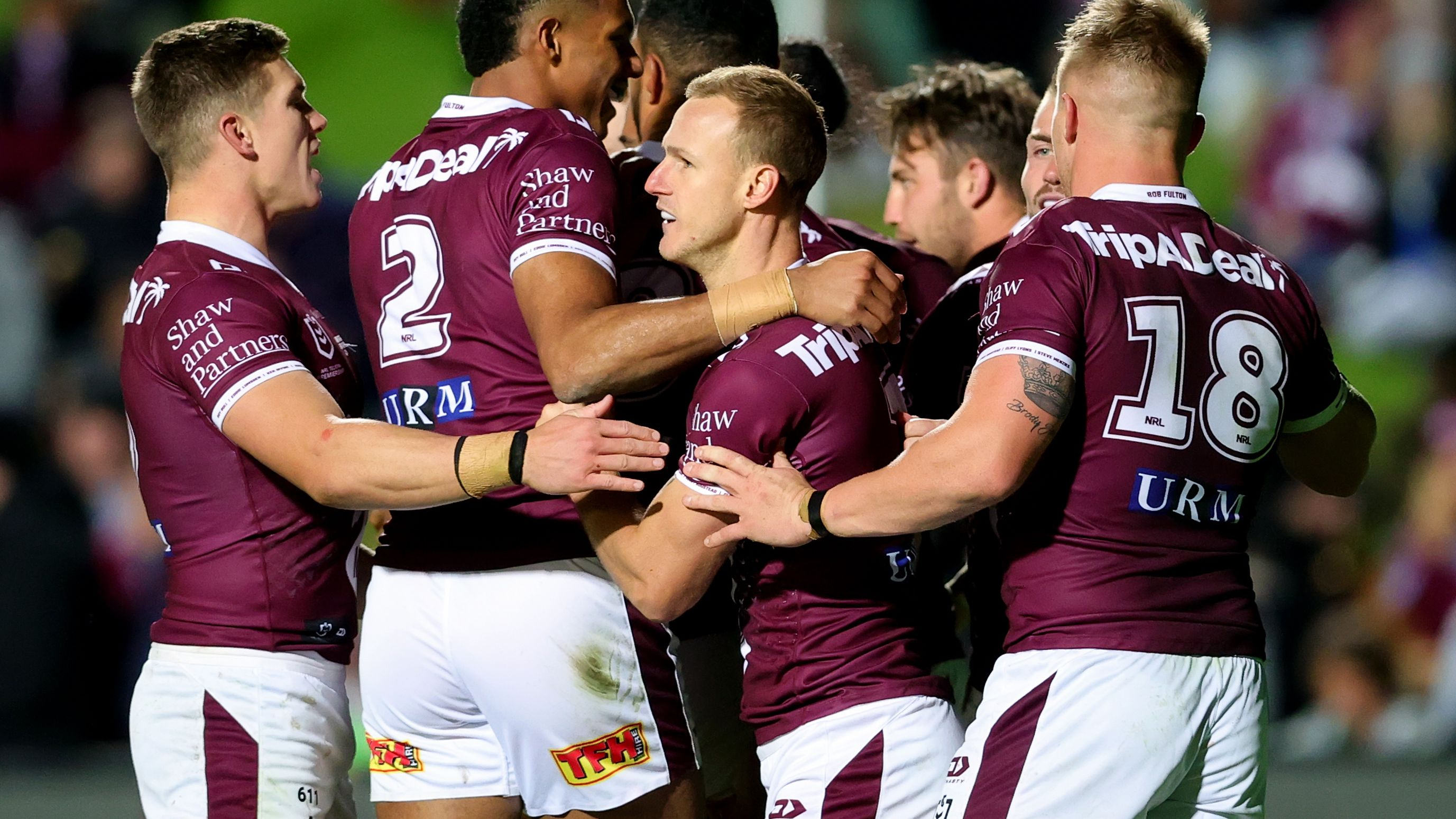 The Manly Sea Eagles.