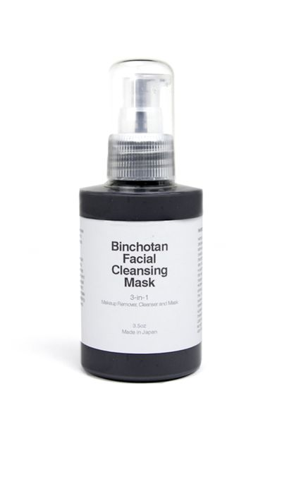 "<a href=""https://www.mychameleon.com.au/charcoal-cleansing-mask-p-3571.html?typemf=women"" target=""_blank"">Binchotan Facial Cleansing Mask, $66 for 100ml, Morihata</a>"