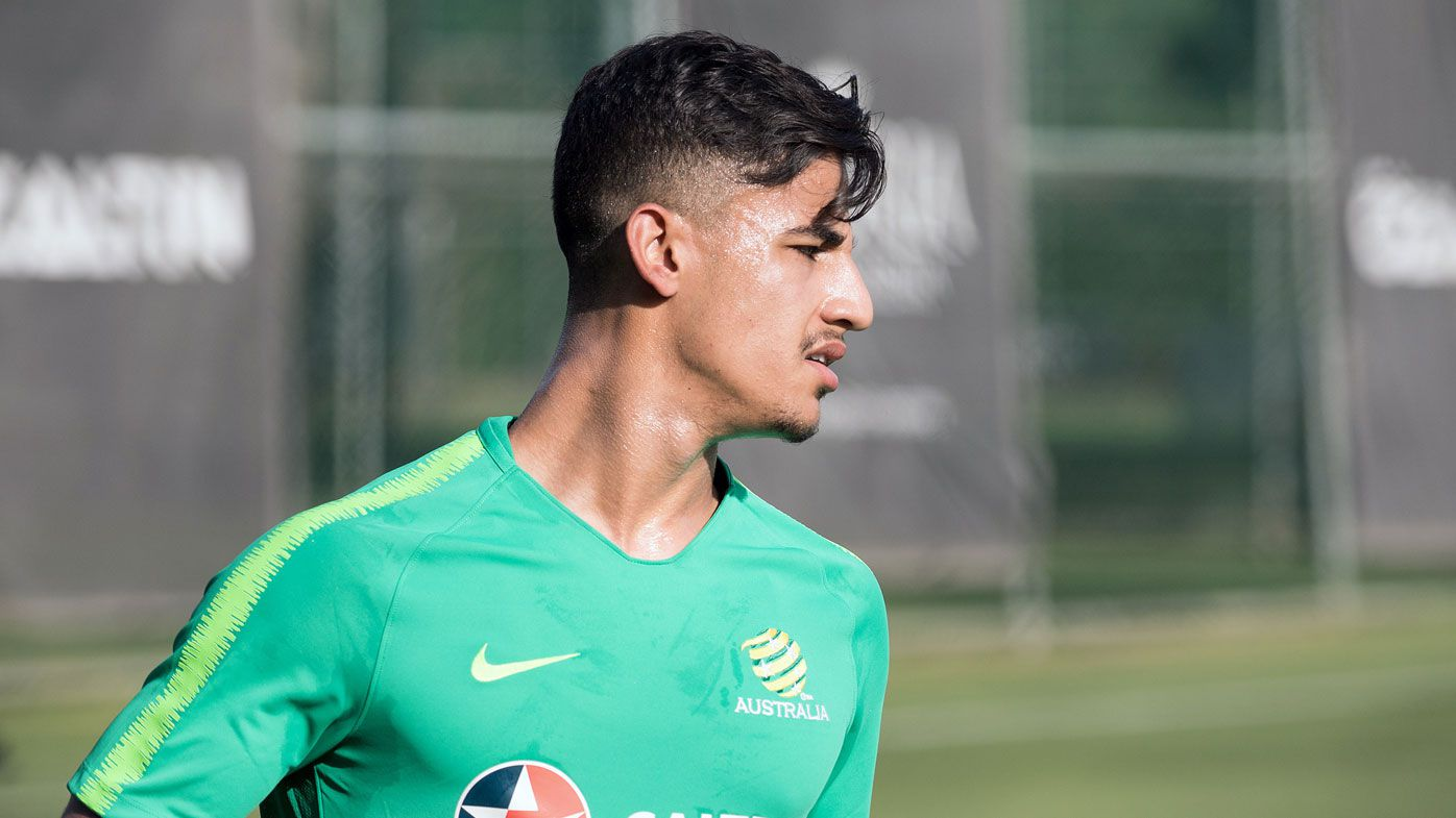 Socceroo Daniel Arzani set to join Celtic on loan from Man City