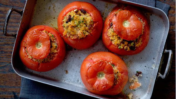 Clarissa Dickson Wright's stuffed tomatoes