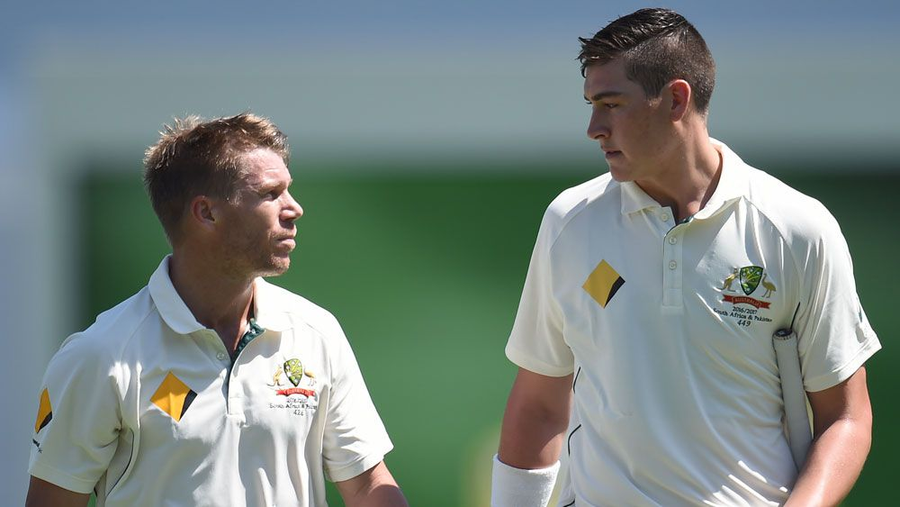 Australian opener David Warner admits Matt Renshaw is under pressure and needs Sheffield Shield runs
