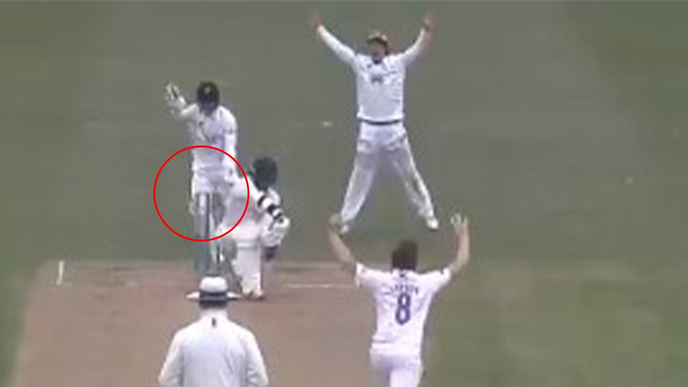 Wicket-keeper's shocking act rocks county championship match