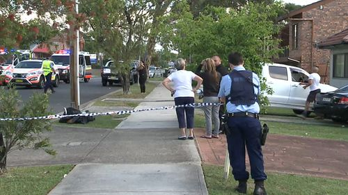 The 29-year-old woman is in a critical condition following a hit-and-run yesterday. (9NEWS)