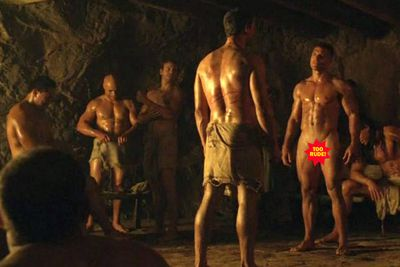 <b>Why are they naked? </b>Lucy Lawless, we understand... but is there a reason why everyone else is so naked all the time?