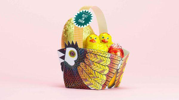 Hen Easter basket