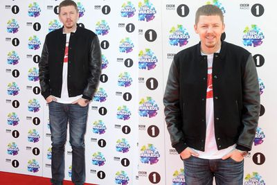 Rapper Professor Green mucked around for photographers. But where was wife Millie Mackintosh?