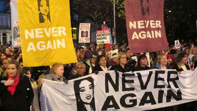 In 2012, 31-year-old Savita Halappanavar died due to complications arising from a septic miscarriage. (AP)