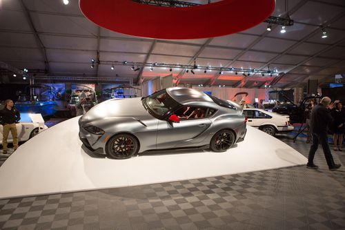 First A90 Toyota GR Supra sells for record price