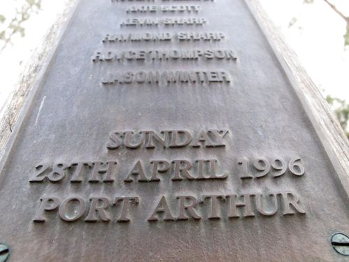 A memorial in Port Arthur honour the 35 people killed by a lone gunman. After the tragedy, the Australian government severely restricted ownership of semi-automatic firearms and pump-action shotguns and bought back nearly 700,000 guns from the public.
