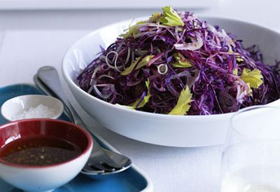 "<a href="" /recipes/icabbage/8298639/red-cabbage-apple-and-celery-salad"" target=""_top"">Red cabbage, apple and celery salad<br> </a>"