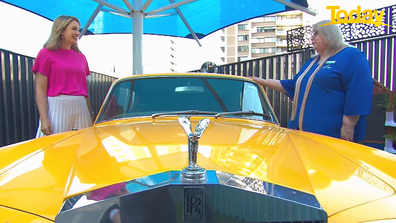 Kids Club features a Rolls Royce.