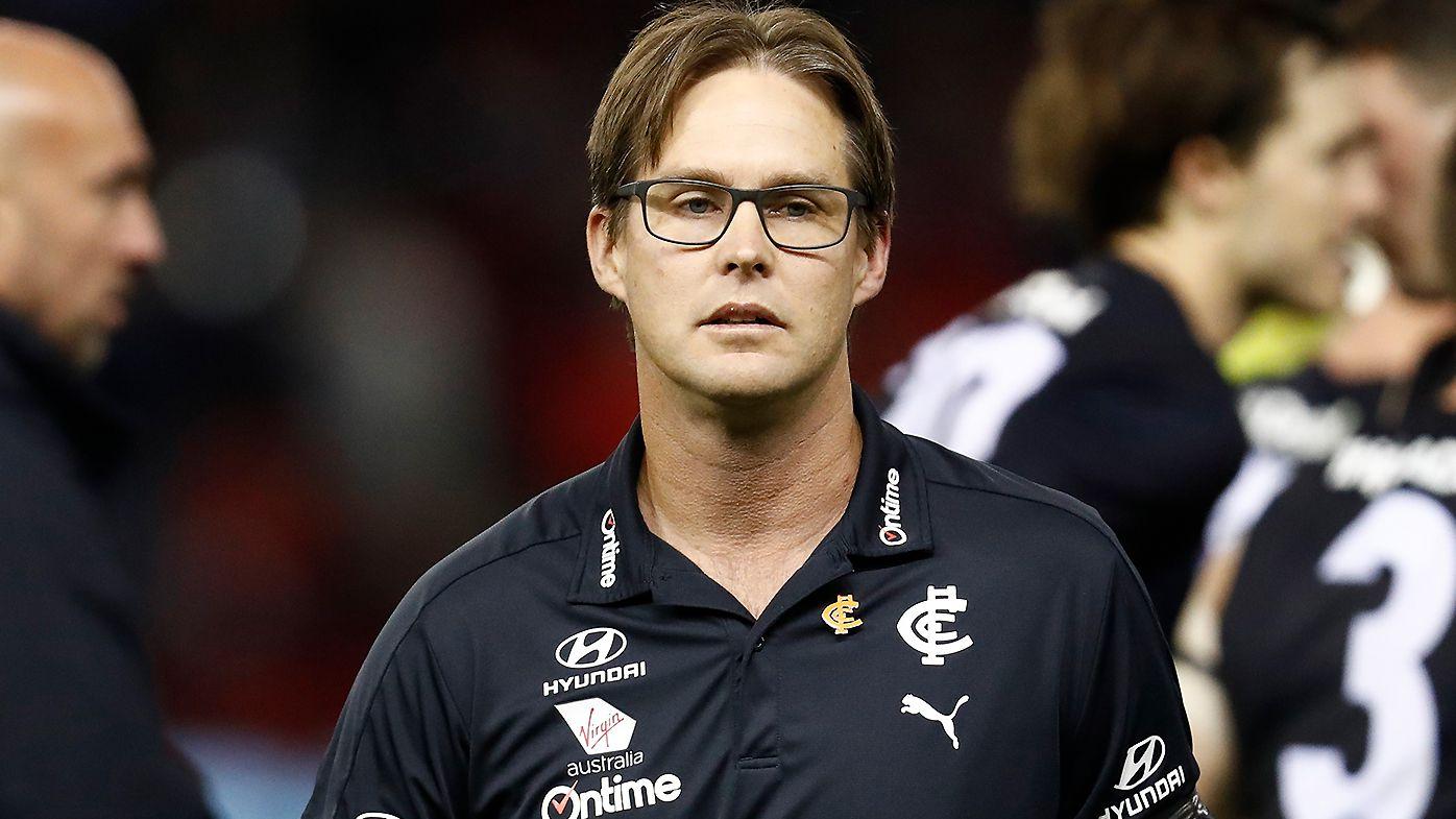 'I don't think he's being honest': Carlton coach David Teague slammed over post-loss messaging
