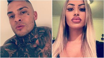 Ivona Jovanovic (R) was found with a gunshot wound to her chest. Her ex-boyfriend Christos Panagakos (R) is being questioned by police.