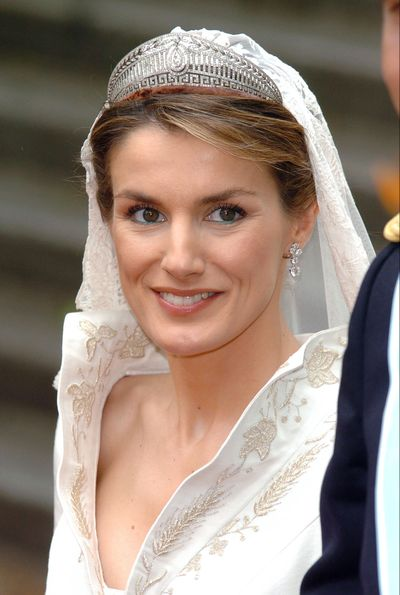 Queen Letizia of Spain: The Prussian/Hellenic tiara