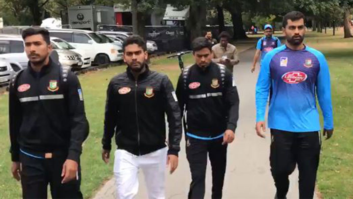 Bangladesh players 'extremely lucky' to avoid mosque attack - Mushfiqur
