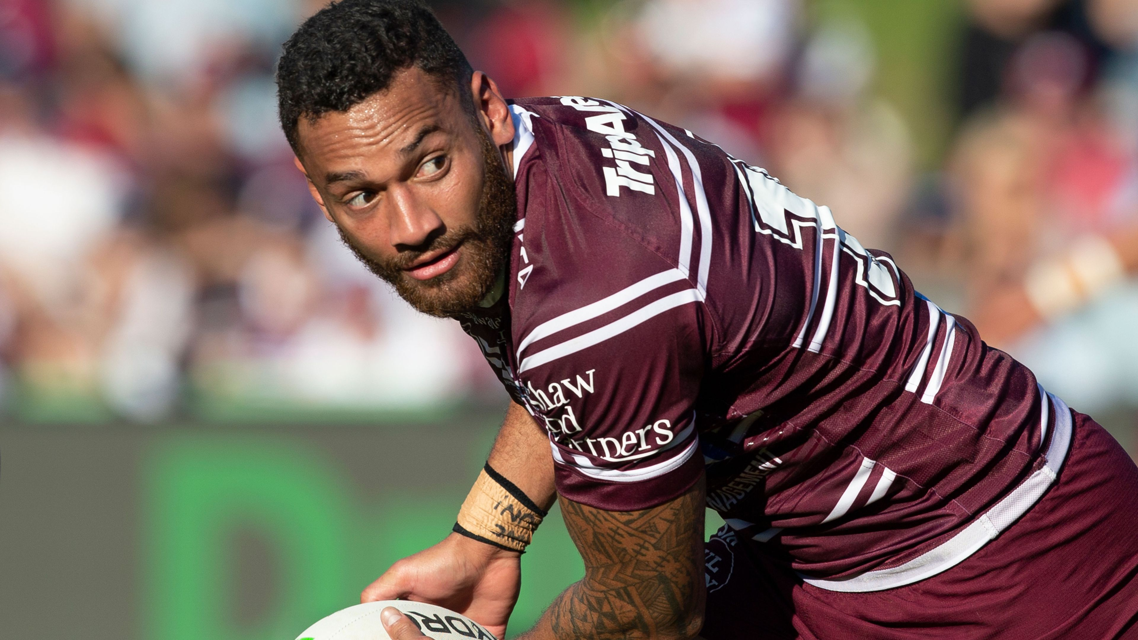 Apisai Koroisau reveals he saw tap on the shoulder coming at Manly