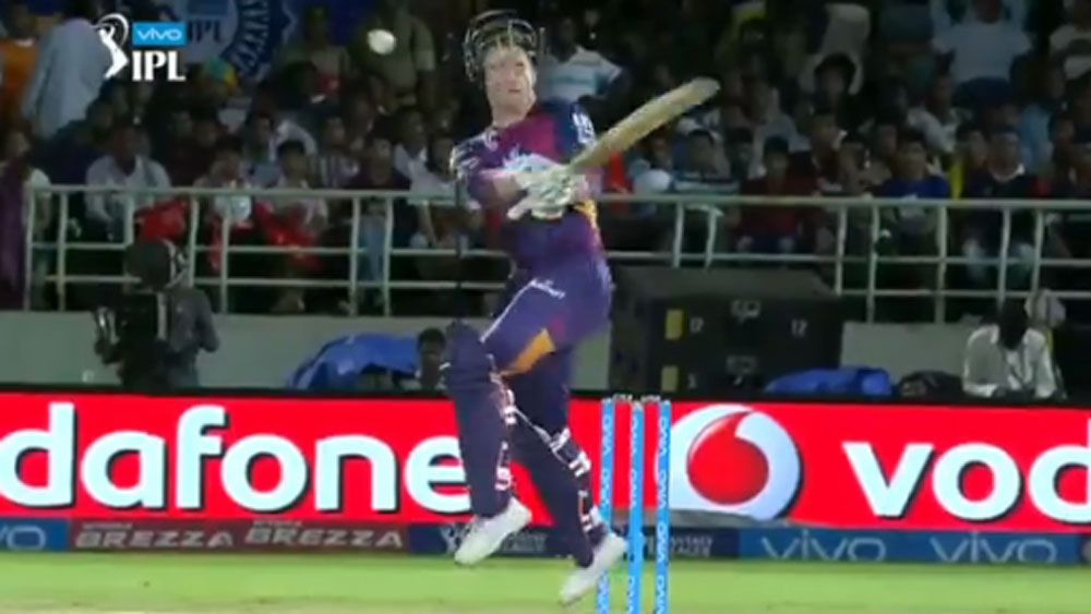 George Bailey's IPL bouncer blow