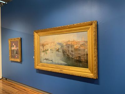 Arthur Streeton painting up for auction